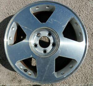 "Used SATURN VUE 17""X7"" OEM Factory Original Alloy Wheel Rim V4"