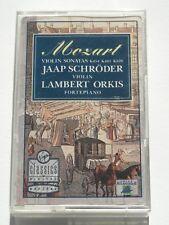 Mozart Violin Sonatas K454 K481 K526 Schroder Orkis - Cassette Album - Used Good