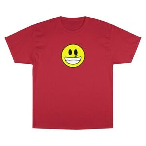 smiley Champion T-Shirt red
