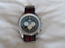 James Bond Lona Reloj Correa de la OTAN para caber BREITLING Relojes Navitimer 22 mm
