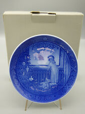 Royal Copenhagen Waiting for Christmas 1982 Limited Edition Collector Plate box