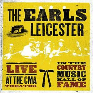 The Earls Of Leicester - Live At The CMA Theatre [CD]