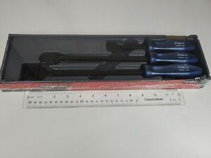 Snap On Tools NEW CSA300AMB 3 pc Rigid Carbon Scraper Set Sealed