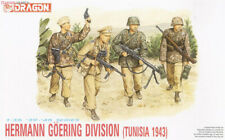 DRAGON HERMANN GOERING DIVISION TUNISIA 1943 1/35 Kits Soldiers 4 figures model