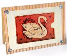 Sizzlits Swan & Leafy Frame large die #658336 Retail $19.99 by Brenda Walton!