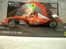 FERRARI HOT WHEELS VELOCITYX CON PC DEMO - MATTEL 2003- SIGILLATA 1/24