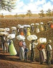 African American Art Print - Bales of Dignity 22 x 28 - Hulis Mavruk - New!