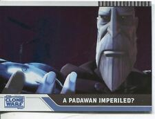 Star Wars Clone Wars 2008 Foil Parallel Base Card #84
