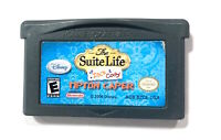 THE SUITE LIFE OF ZACK & CODY: TIPTON CAPER NINTENDO GAMEBOY ADVANCE SP GBA