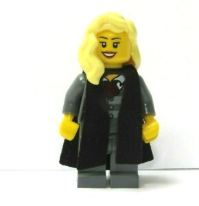 Genuine Lego Female Girl  Graduate Graduation Minifigure Student  Blonde Hair