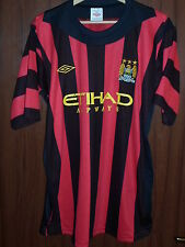 OLD Manchester City FC #35 Size 50(XL) Football Shirt Jersey Maglia UK UMBRO