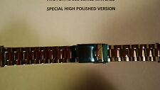 FORTIS Factory Bracelet HIGH POLISHED 316L Solid Steel  Fits 595. Series Watches