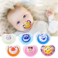 Food Grade Silicone Newborn Pacifier Dental Care Baby Teether Soothers Pacifier