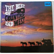 The best of country and west LP VINYL NM / VG+CHET ATKINS JIM REEVES BOBBY BARE