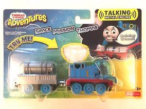 Thomas & Friends Adventures Talking Metal Engine SPACE MISSION THOMAS TRAIN BNIB