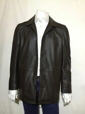 HUGO BOSS Button Leather Coats & Jackets for Men