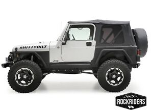 97-06 Jeep Wrangler TJ Soft Top with Rear Tinted Windows 3 Year Warranty 9971235