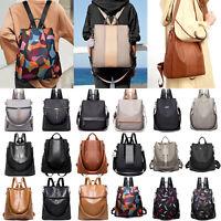 Damen Mädchen Anti Diebstahl Rucksack Schultertasche Schulrucksäcke Handtasche