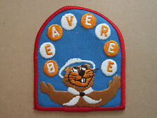 Beaveree Woven Cloth Patch Badge Boy Scouts Scouting