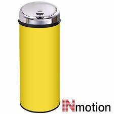 Inmotion 50L Yellow Stainless Steel Auto Automatic Sensor Kitchen Waste Dust Bin