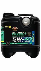 Penrite Enviro+ 5W-40 Full Synthetic 7L fits Mercedes-Benz SLK-Class SLK 200 ...