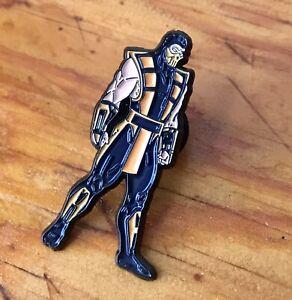 Mortal Kombat - Scorpion Character Enamel Lapel Pin