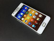 Samsung Galaxy S II GT-I9100 Ceramic White - Used Cracked Unlocked Smartphone