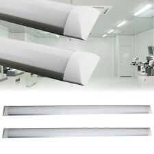 2x 4FT 120cm Slim 36W LED Batten Linear Tube Light Ceiling Wall Surface Mounted
