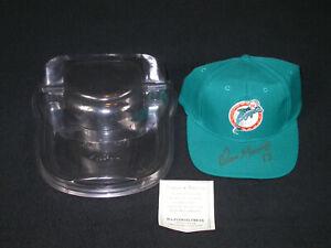 Dan Marino Auto Autographed Signed Miami Dolphins Team NFL Hat - W/ Case & COA