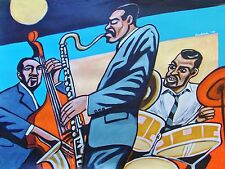 ERIC DOLPHY PAINTING jazz alto sax town hall cd mingus bass danny richmond drums