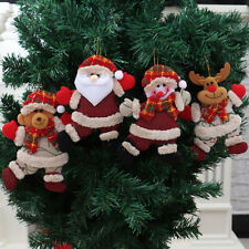 Christmas Dolls Pendant for Children's Gifts Xmas Tree Pendant Decorations