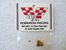 Robinson Racing Pinion Gear 64DP 23 Tooth / Yokomo Associated Losi Tamiya HPI