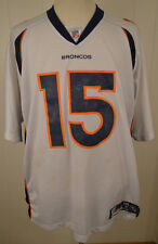 e77b9f5ef Authentic Reebok Denver Broncos Jersey  15 Brandon Marshall NFL Jersey 2XL  White