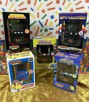 Arcade Classics Mini Defender Galaga Ms. Pac-Man Dig Dug Spyhunter YOU CHOOSE!