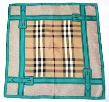 BURBERRY Lusso Sciarpa Scarf Carré платок FOULARD SCIARPA 100% SILK 67x67 UVP 279 €