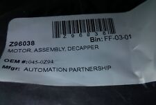 The Automation Partnership 045-0Z94 Motor Assembly, Decapper