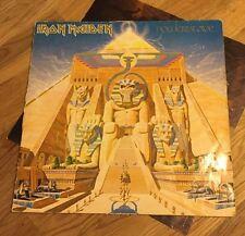 """Iron Maiden  - Powerslave 12"""" LP 1st Press 1984 (Vinyl aus Sammlung)"""