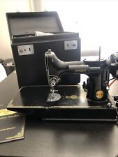 vintage singer featherweight 221 sewing machine
