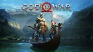God Of War PS4 ( Playstation ) Platinum Trophy Service