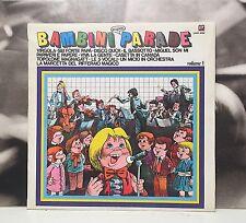 BAMBINI PARADE VOL. 1 LP EX/EX SEI FORTE PAPA' - MIGUEL SON MI - DISCO DUCK ETC.
