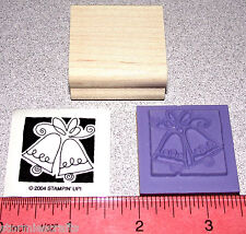 Stampin Up Occasionally Stamp Single Wedding Bells with a Solid Background New