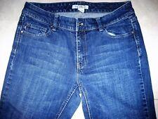 White House Black Market Boot Cut Womens Jeans Blanc Size 8 SHORT