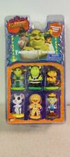 Brand New Dreamworks Shrek Fairytale Friends Gingy, Fiona, Shrek, Mouse, Boots