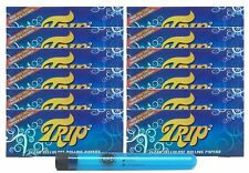 Trip 2 Cellulose Clear Rolling Papers King Size (12 Packs) with RPD Doob Tube