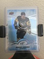 SIDNEY CROSBY 2018-19 Upper Deck Ice Green Parallel #16 Pittsburgh Penguins UD