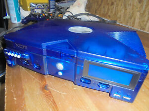 XBOX ORIG XCM XECUTER3 BLUE CONSOLE