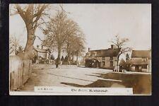 Newborough, The Green - between Uttoxter  Lichfield - real photographic postcard