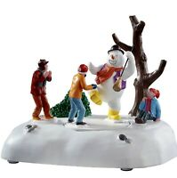 Lemax FROSTY FROLIC #94529 BNIB Battery Operated Animated Table Accent