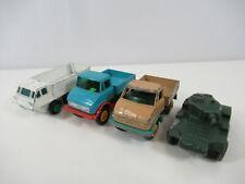Lesney Unimog Saladin 6x6 Armoured Alvis Stalwart Diecast Cars Lot of 4 England