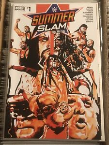 WWF SUMMER SLAM 2017 SPECIAL #1 MANKIND UNDERTAKER BUSHWACKERS MACHO MAN SAVAGE